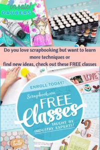 Free Scrapbooking Classes